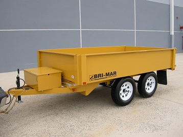 dtr610d 10 dump trailer bri mar Ford 7 Pin Wiring Diagram dump trailers r series